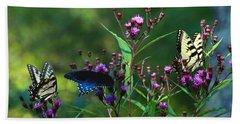 Butterflies Three Beach Towel