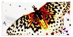 Butterfly 4 Beach Towel