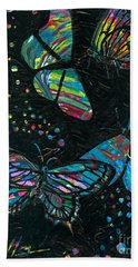 Butterfly Beauties Beach Towel by Denise Hoag