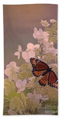 Butterfly Glow Beach Towel
