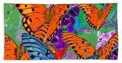 Butterfly Joy Beach Towel