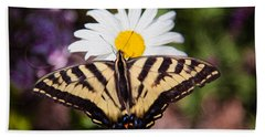 Butterfly Kisses Beach Towel