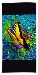Butterfly Mosaic Beach Towel