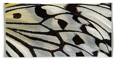 Butterfly Wing Beach Towel