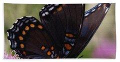 Butterfly Wings Beach Sheet