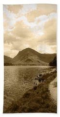 Buttermere Bright Sky Beach Towel