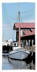 Buy Boat Old Point Beach Towel