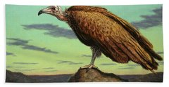 Buzzard Rock Beach Towel by James W Johnson