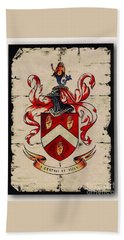 Byrne Coat Of Arms Beach Sheet