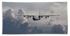 C130 Hecules    In Trail Beach Towel