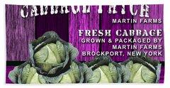 Cabbage Patch Farm Beach Towel