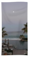 Cabo Moonlight Beach Sheet by Susan Garren