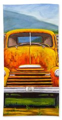 Cabover Truck Beach Towel