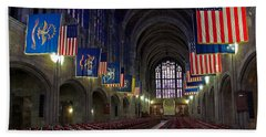 Cadet Chapel At West Point Beach Towel