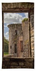 Caerlaverock Castle Beach Towel
