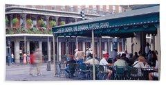 Cafe Du Monde French Quarter New Beach Towel