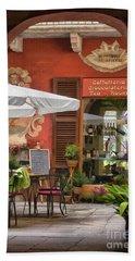 Caffeteria Orta San Guilio Beach Towel