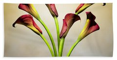 Cala Lily 5 Beach Towel