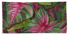 Caladiums Beach Sheet