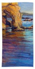 California Cruising 6 / El Matador Beach Towel