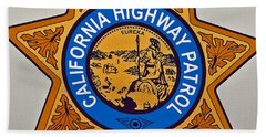 California Highway Patrol Beach Sheet
