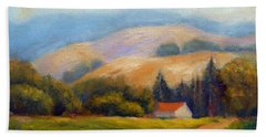 California Hills Beach Towel