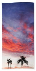 California Sunset Beach Towel