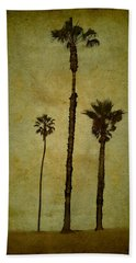 California Trees Beach Towel