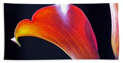 Calla Colors And Curves Beach Towel