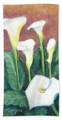 Calla Quintet Beach Towel
