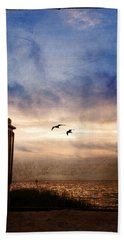 Calm Beach Towel by Beverly Stapleton