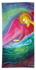 Calming Angel Beach Towel
