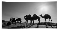 Camels Beach Towel