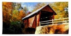 Campbell's Covered Bridge Beach Towel