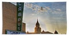 Campus At Sunrise Beach Towel by Gary Holmes