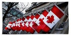 Canadian Embassy London Beach Towel
