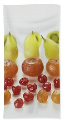 Candied Fruit Beach Towel