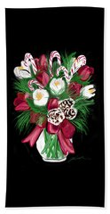 Candy Cane Bouquet Beach Towel