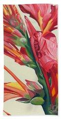 Canna Lily Beach Towel