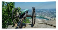 Cannon At Point Park Beach Towel