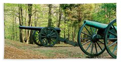 Cannons I Beach Towel