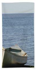 Beach Towel featuring the photograph Canoe by Tiffany Erdman