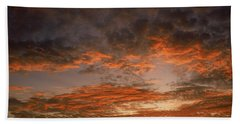Canvas Sky Beach Towel