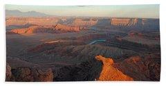 Beach Sheet featuring the photograph Canyonlands Np Dead Horse Point 21 by Jeff Brunton