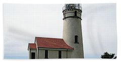 Beach Towel featuring the photograph Cape Blanco Lighthouse by AJ  Schibig