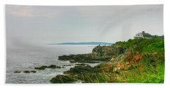 Cape Elizabeth Maine Beach Towel by Denyse Duhaime