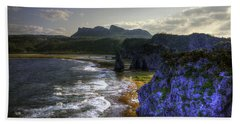 Cape Hedo Hdr Beach Towel