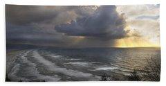 Sunset At Cape Lookout Oregon Coast Beach Sheet