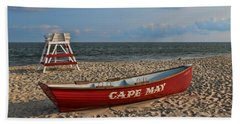 Cape May N J Rescue Boat Beach Towel