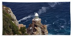 Cape Of Good Hope Lighthouse Beach Towel